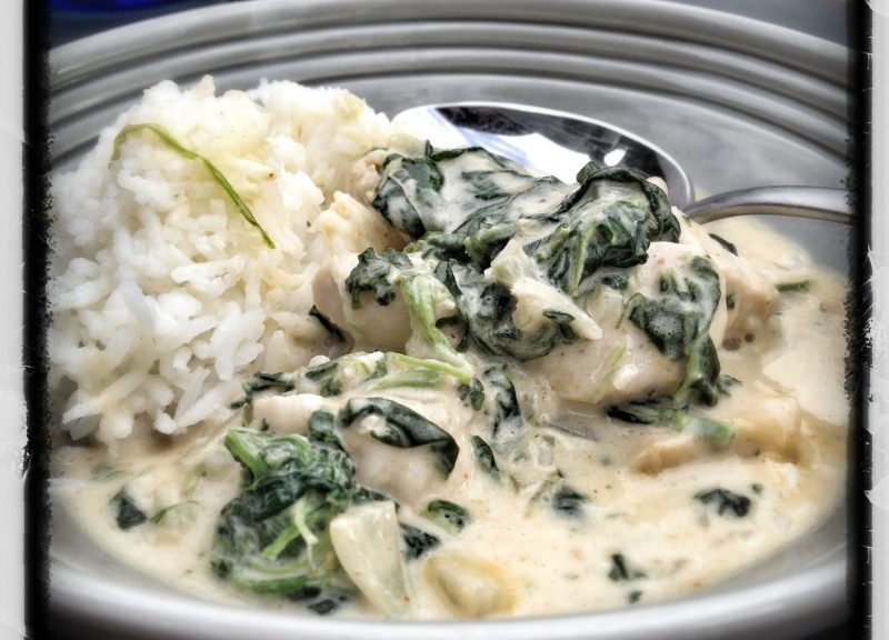 recept, kokbok, Green Curry, grön curry, Viktor