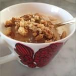 Yoghurtpudding med rabarber