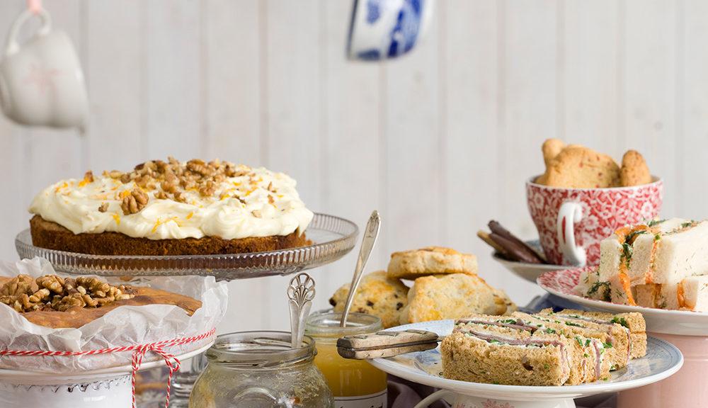 Anette Rosvall, Mors dag, Afternoon tea, Recept, kokbok