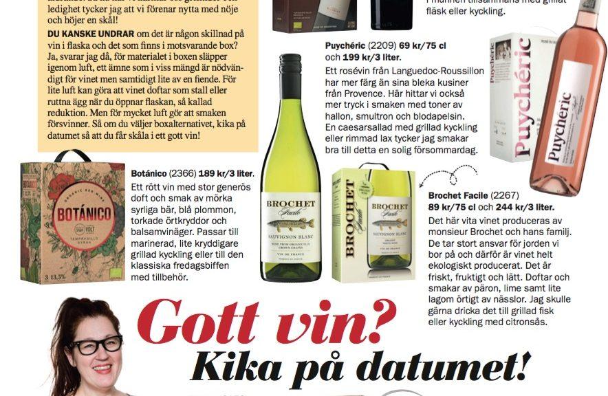 Anette Rosvall, vin, grillviner, Året Runt, vintips
