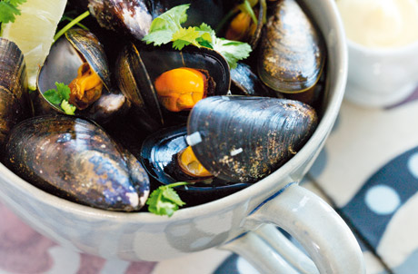 recept, Anette Rosvall, moulesfrittes, musslor