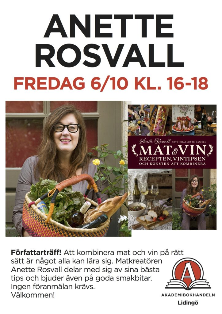 signering, Lidingö, bokhandel, Rosvall, bok,