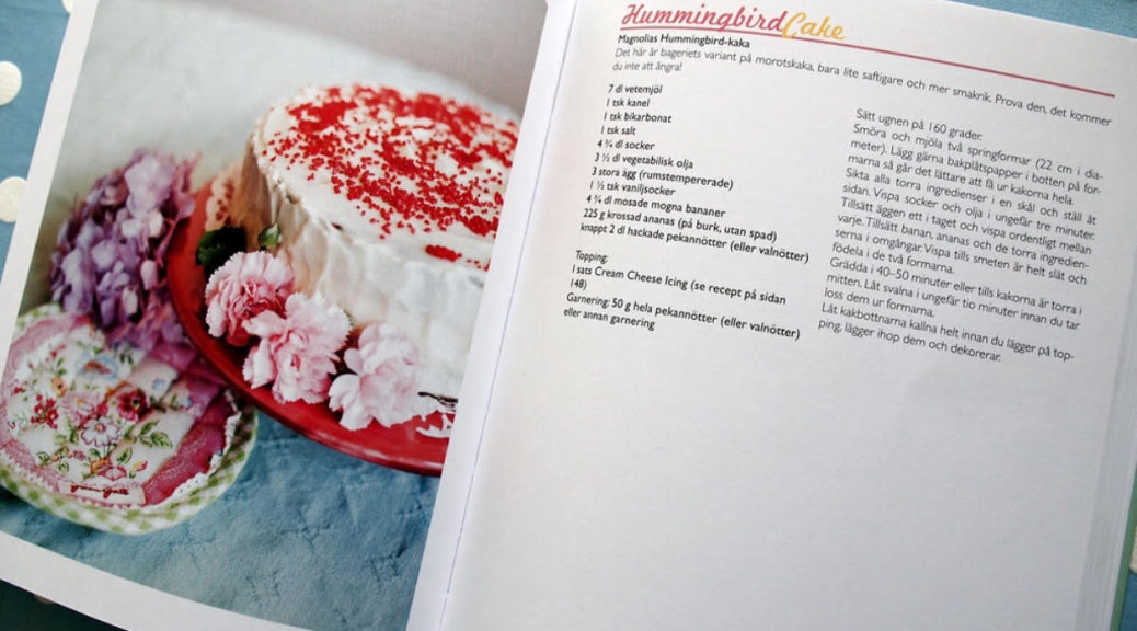 Recept, Anette Rosvall, Hummingbird, Magnolia Bakery