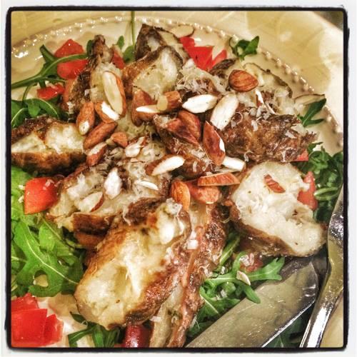 anette rosvall, kokbok, skocksallad, jordärsskockor, recept
