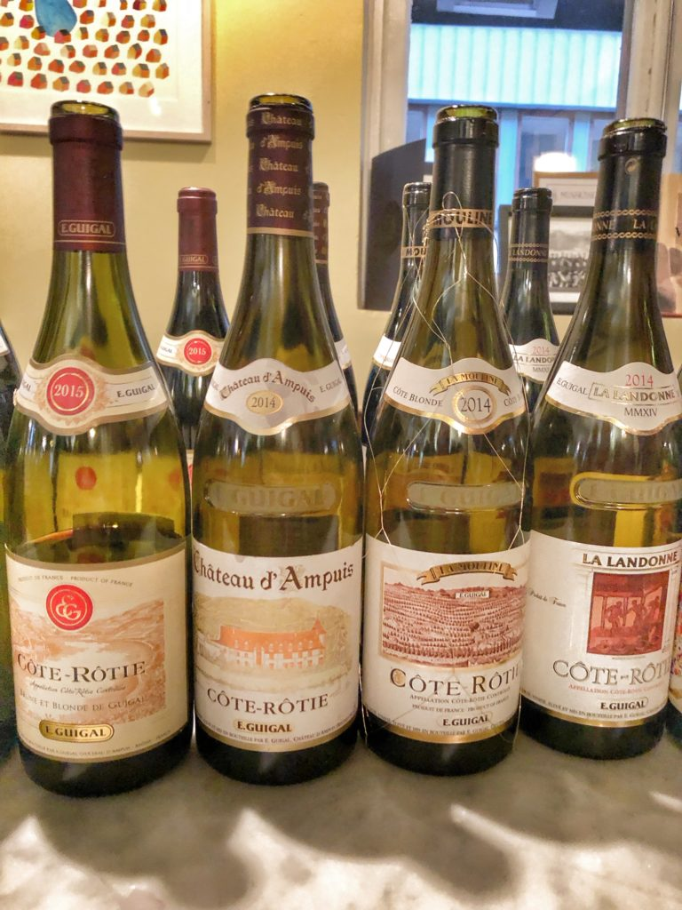 rödvin, Guigal, LaLaLa, Côte-Rotie, Rhônedalen