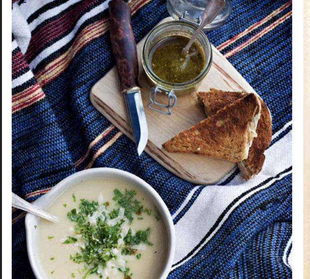 middag, recept, tips, blomkålssoppa, soppa