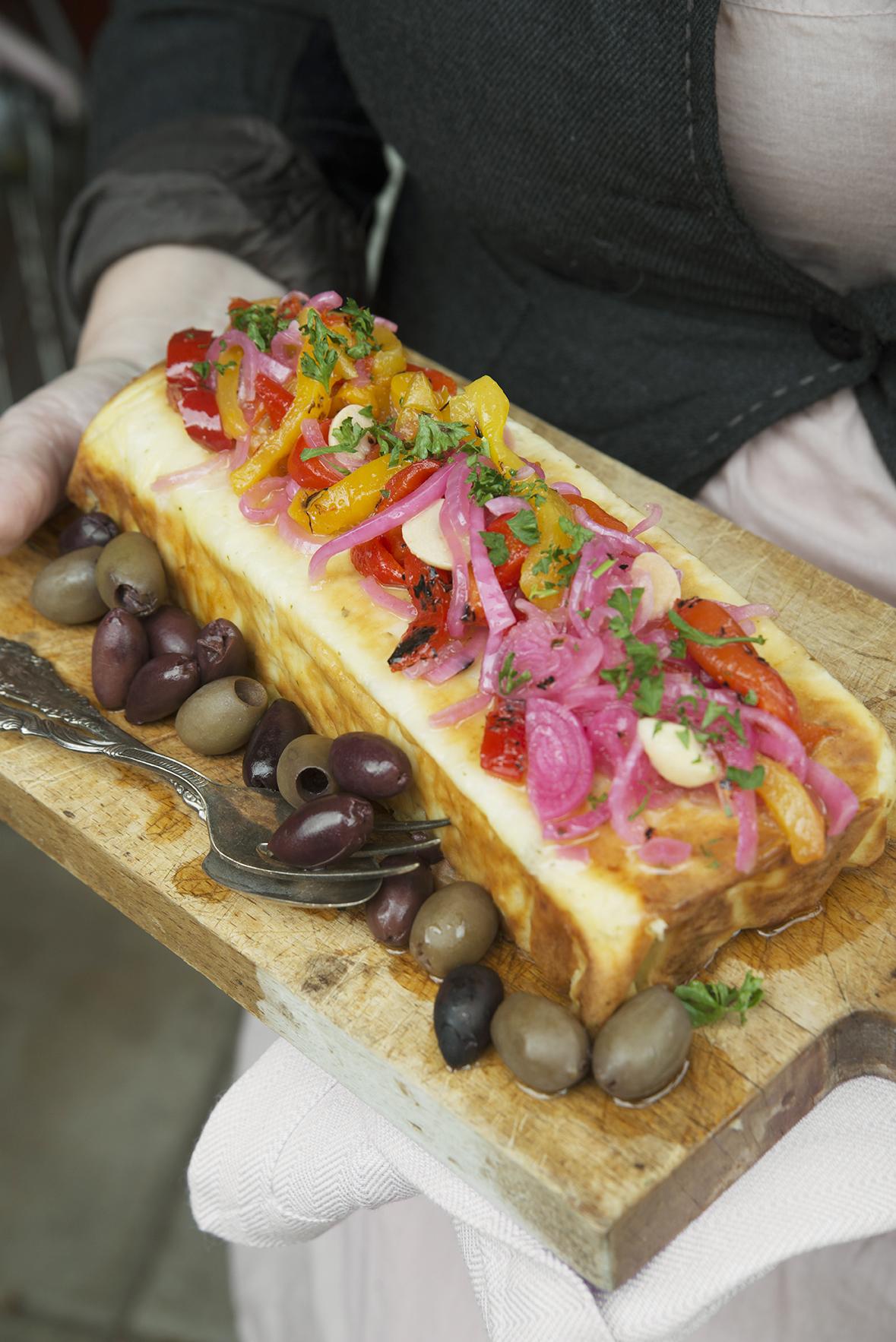 getostlåda, kokbok, middag, vegetariskt, recept, Anette Rosvall