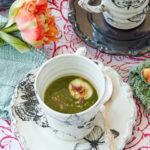 Soppa på spenat eller grönkål