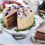Devilsfoodcake med Caramel- & Baileysfrosting