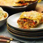 Lasagne med lamm & fårbechamel