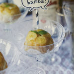 Banana fosters cakes med rom!